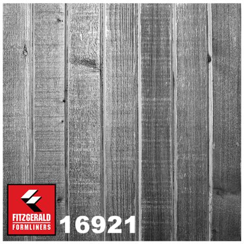 Graylastic Patterns Wooden Plank Fitzgerald Formliners