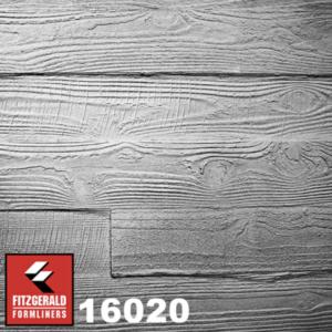 16020 Wooden Plank GrayLastic formliner