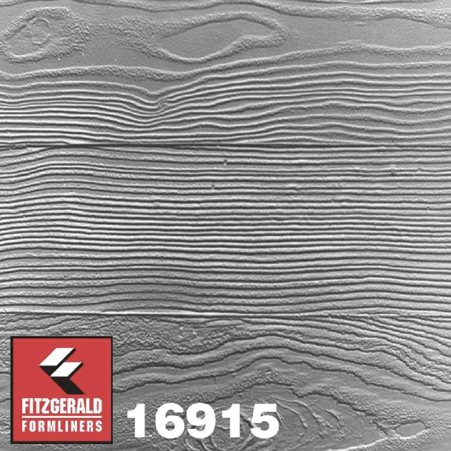 16915 - Weathered Plank formliner