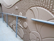 La Conchita Pedestrain Walkway, Granite Construction, GrayLastic 17998, 16964, 16951, and custom, US hwy 101 La Conchita Beach EDIT 1