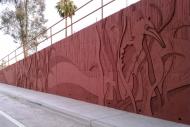 tn Avondale Interchange Abutment Mural in Avondale, AZ