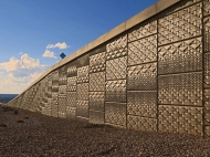 tn Cactus Ave. in Las Vegas NV Custom pattern built by Las Vegas Paving, completed Fall 2014