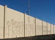 tn Custom Noise Wall - Fargo ND Concrete Inc., Grand Forks ND