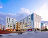JE Dunn Building: Enterprise Precast Concrete.Pattern: 16938