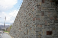 Aged Maryland Ashlar Abutment and Wingwall test