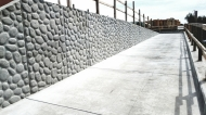 Project: Lower Berryessa CreekLocation: Milpitas, CAContractor: Brosamer & WallPattern: 16985-S Indiana River rock (shallow)