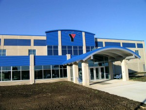 Maquoketa YMCA in Maquoketa, IA by Coreslab NE Precast using VinyLok 14302 Fluted Rib
